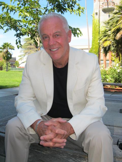 James Lull in white jacket